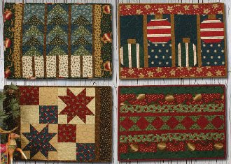 Holiday Table Placemats Pattern by Whistlepig Creek Productions