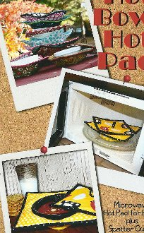 Hot Bowl Hot Pad Microwave Hot Pad For Bowls Pattern by Whistlepig Creek Productions