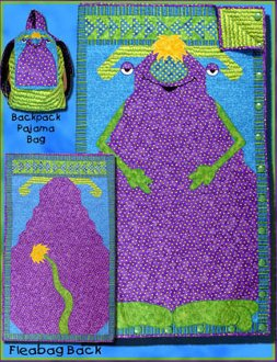 Monster Fleabag Sleeping Bag and Quilt Pattern by Whistlepig Creek Productions