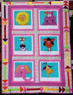Portraits of Jungle Things Quilt Pattern by Whistlepig Creek Productions