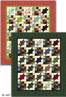 Rolling Stars Quilt Pattern by Whistlepig Creek Productions