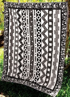 Rows-O-Rama Lap Quilt Pattern by Whistlepig Creek Productions