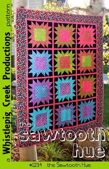 Sawtooth Hue Quilt Pattern by Whistlepig Creek Productions