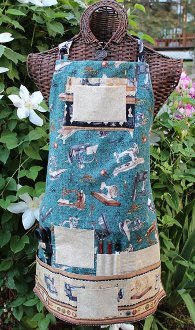 Sews-A-Lot Utility Apron and Class Project Case Pattern by Whistlepig Creek Productions