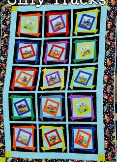 Silly Trucks Quilt Pattern by Whistlepig Creek Productions