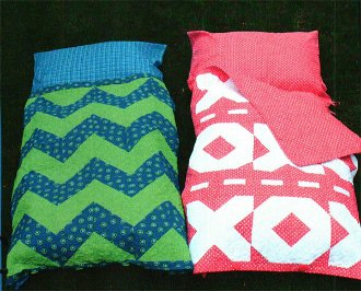 Stuft Nappers Pillow Stuffed Nap Sacks Pattern by Whistlepig Creek Productions