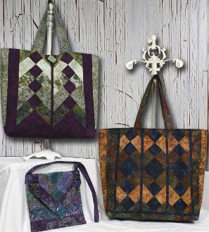 Vive La Tote Pattern by Whistlepig Creek Productions