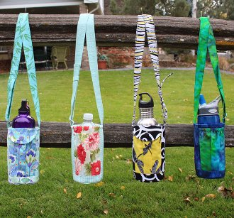 Walker's Water Bottle Sling Pattern by Whistlepig Creek Productions