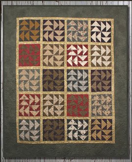 Wild Goose Chase Quilt Pattern by Whistlepig Creek Productions