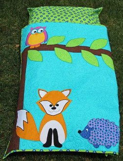 Woodland Stuft Napper Sleeping Bag Pattern by Whistlepig Creek Productions