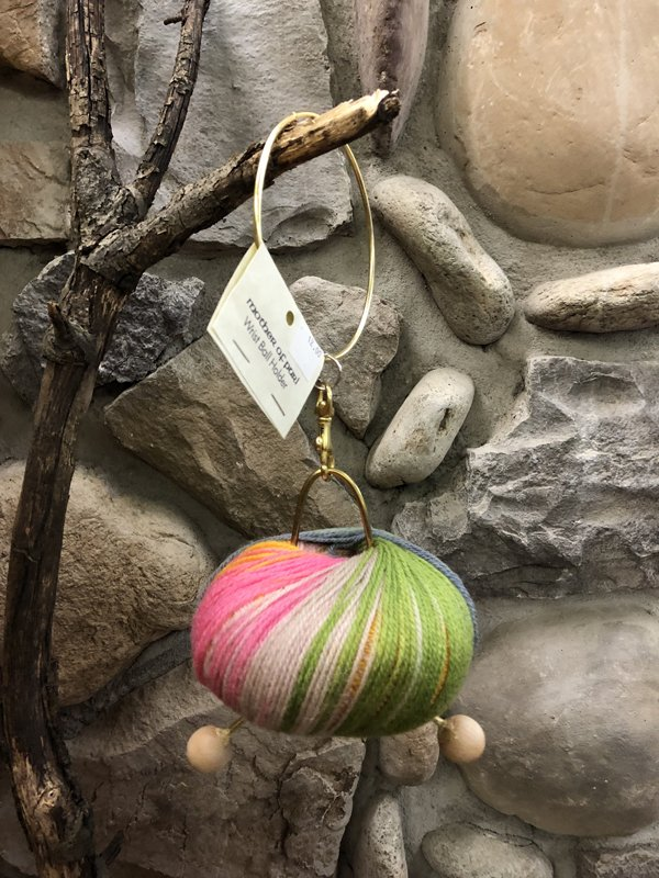 Yarn Wrist Ball by Mother of Purl