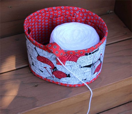 Yarn Bowl Pattern in 6 Sizes by Whistlepig Creek