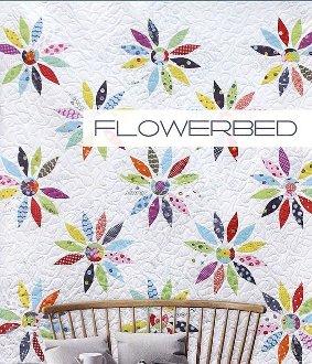 Flowerbed Quilt Pattern by Zen Chic
