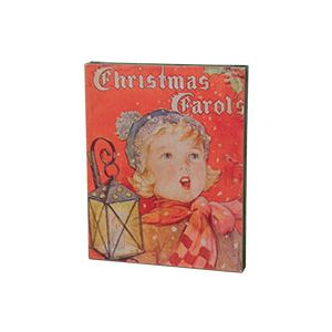 Christmas Caroler Sign