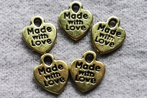 Charms- Brass (5 pieces)