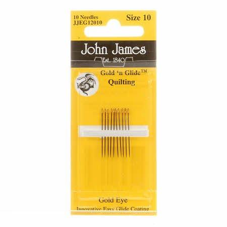 Needles- John James Size 10