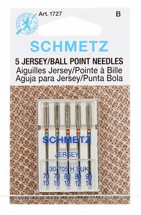 Needles- Schmetz Ball Point Assorted Sizes