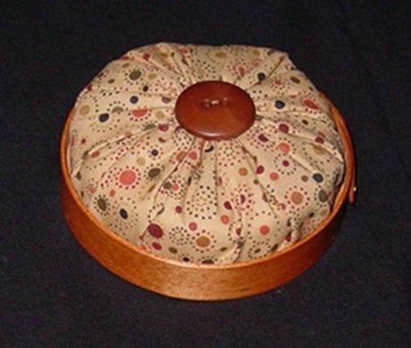 Pincushion- 3-3/4 Round Shaker Style