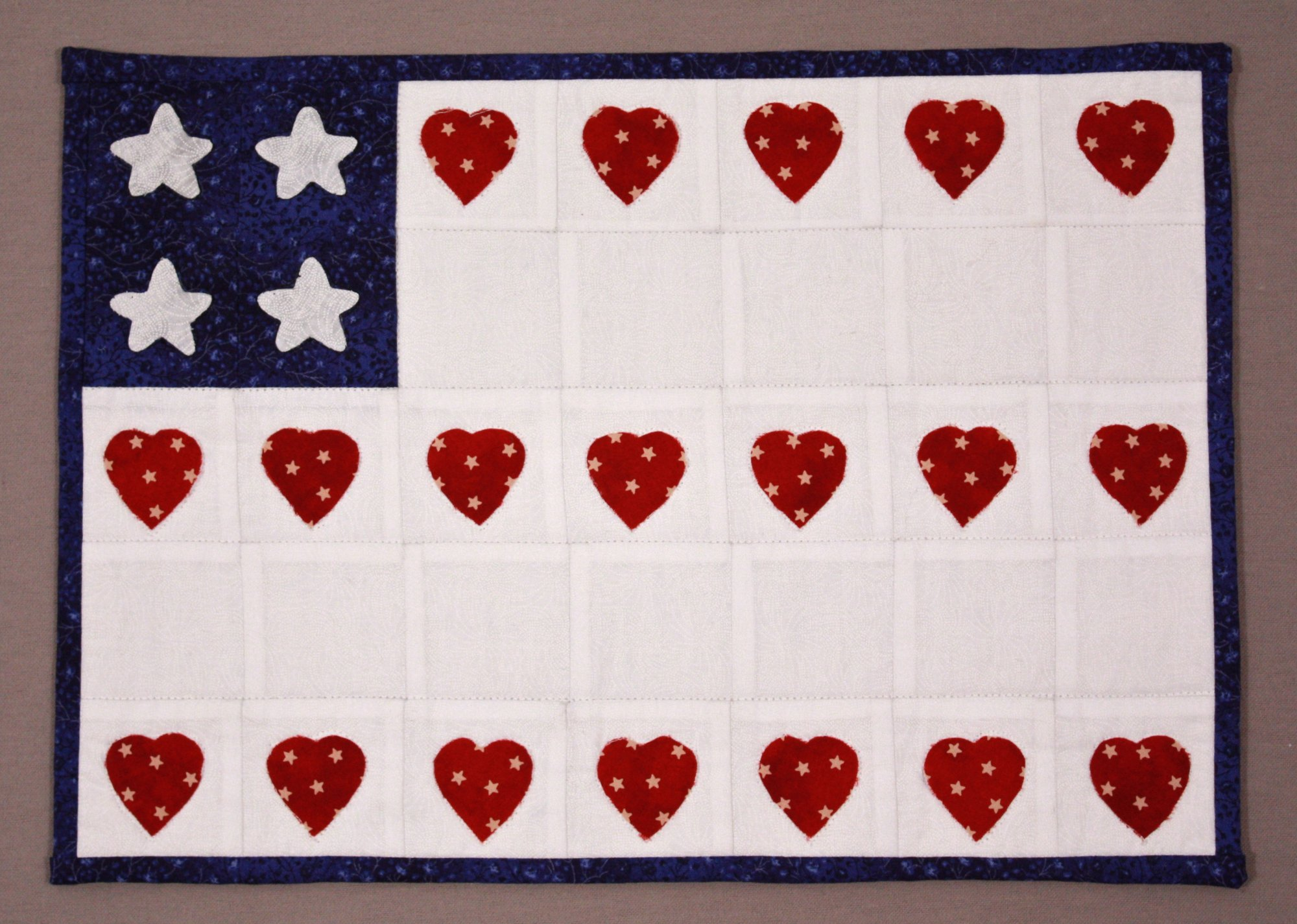Simple Squares (TM) Flag Quilt Pattern & Kit