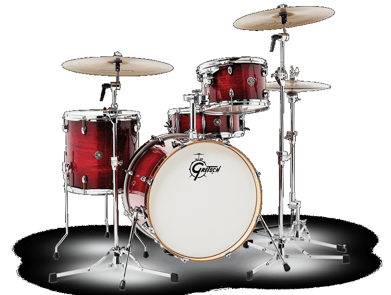 CATALINA CLUB 4PC SHELL PACK WITH 20 BASS DRUM GLOSS CRIMSON BURST