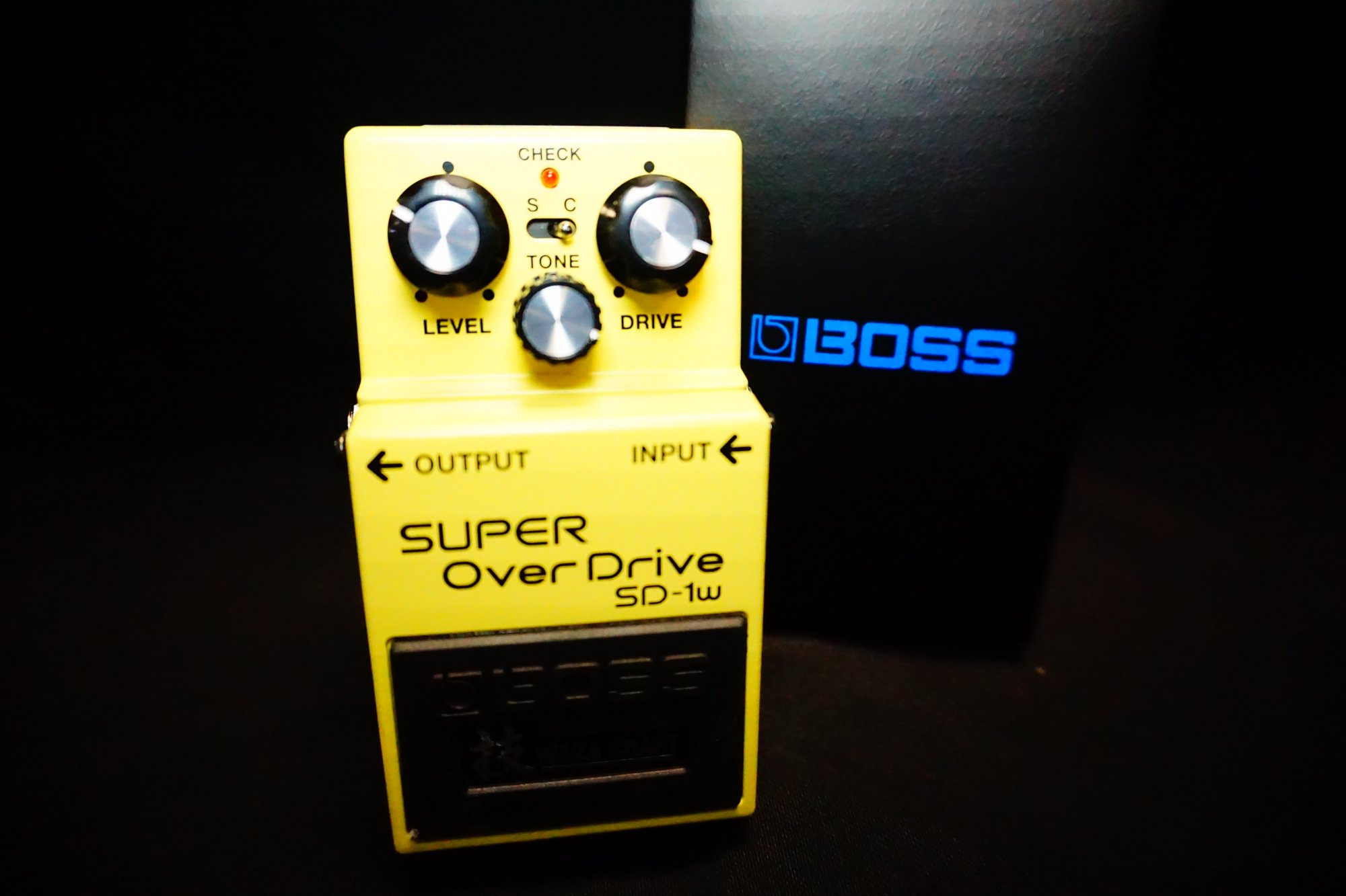 Boss SD-1W Waza Craft Super Overdrive Pedal