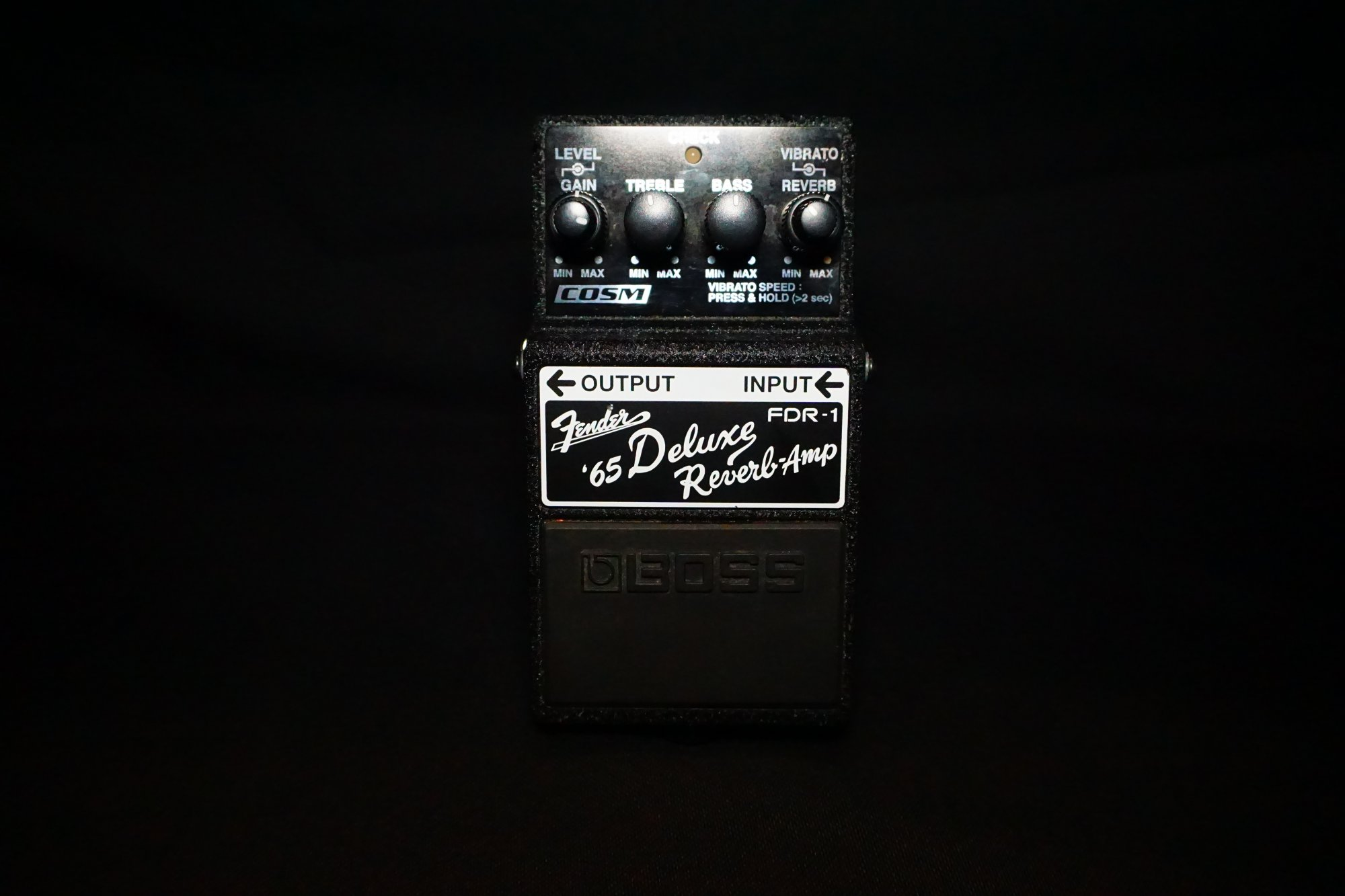 Boss Fender 65 Deluxe Reverb-Amp effects pedal