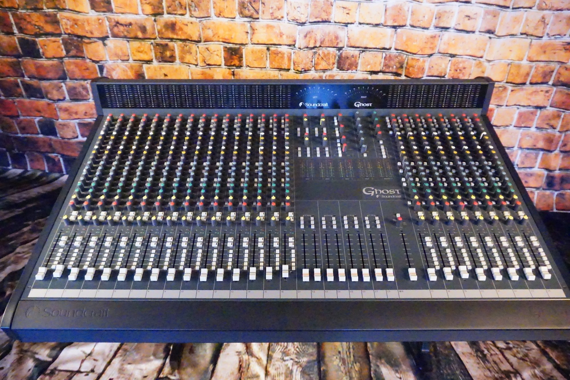 Used SoundCraft Ghost 24 Channel mixer