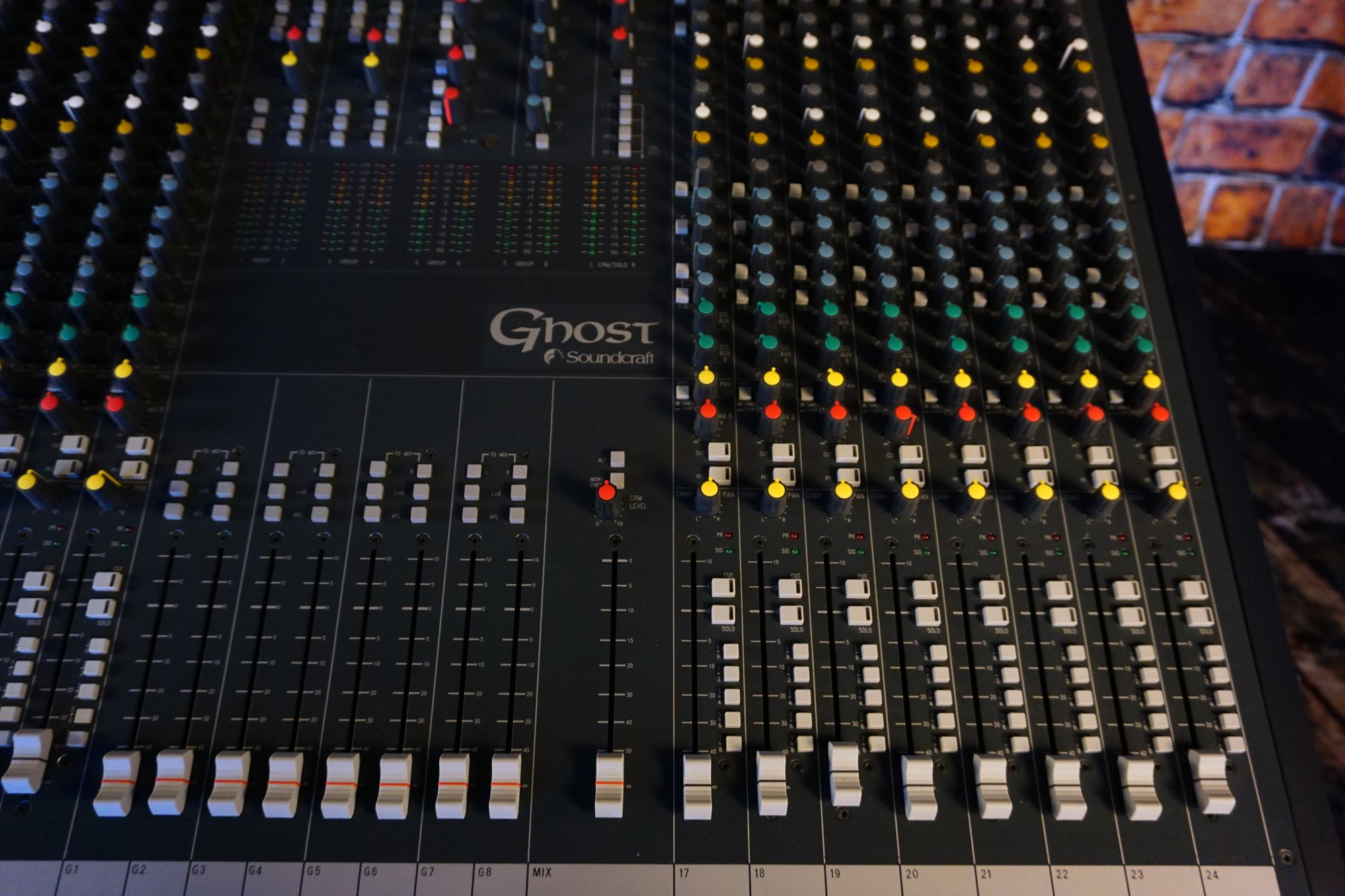Used SoundCraft Ghost 24 Channel mixer - 1519942388