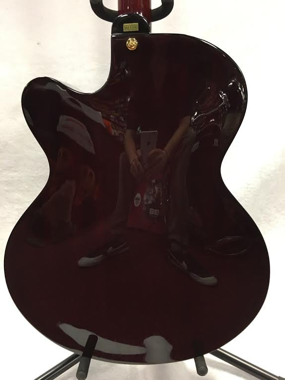Hagstrom Jazz Model Hl-550 Hollowbody Electric Guitar