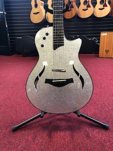 Taylor T5z Custom, Silver Sparkle