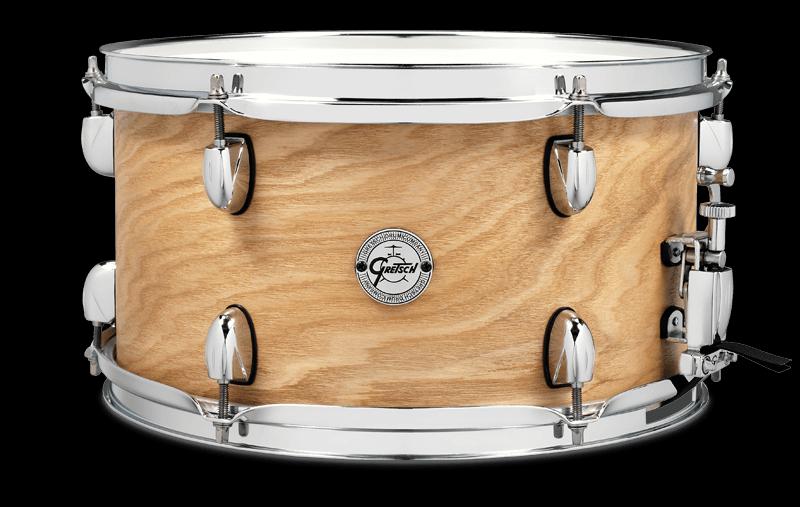 Gretsch 7x13 Ash Side 6-Lug Snare Drum - Satin Natural