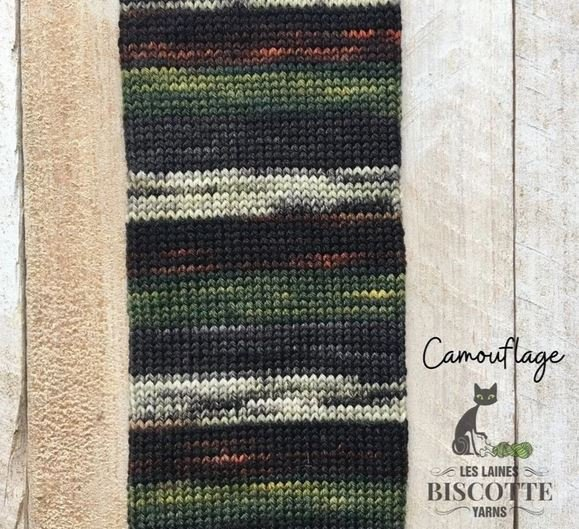Biscotte Bis-sock Self-Striping