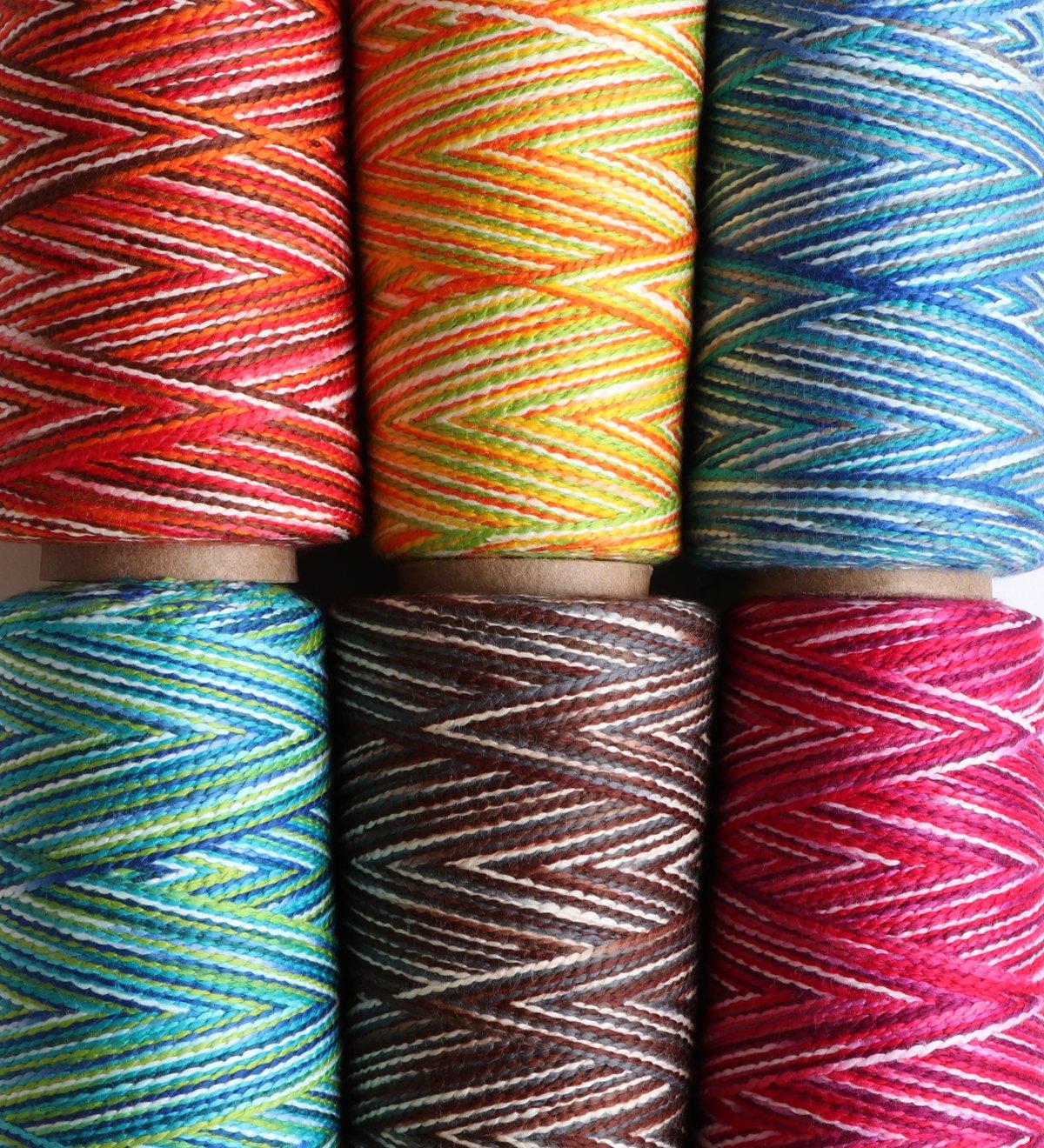 Ashford Caterpillar Cotton Yarn