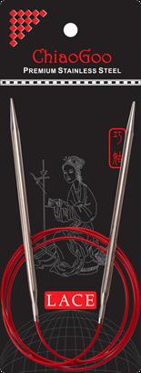 ChiaoGoo Red Lace Circular, 40 inch