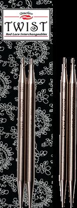 ChiaoGoo TWIST Lace Tips 4 inch, Large