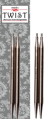 ChiaoGoo TWIST Lace Tips 4 inch, Mini