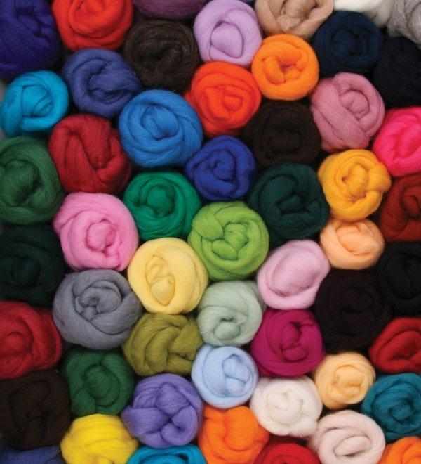 Ashford 30 Micron Corriedale Wool per gram