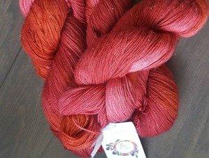 Isis Fibre Arts yarn