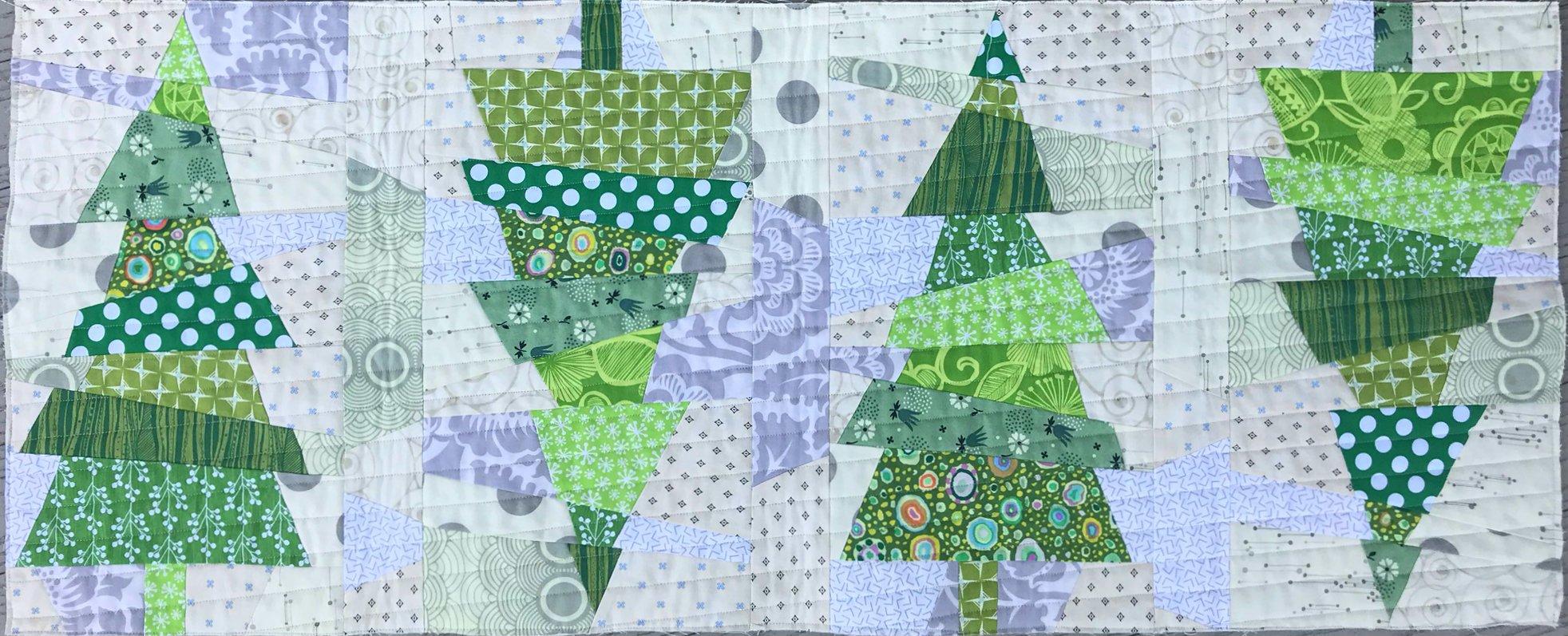 Crazy Christmas Trees - Kit