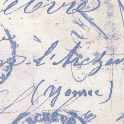 WIDE Correspondence Blue 108 inch