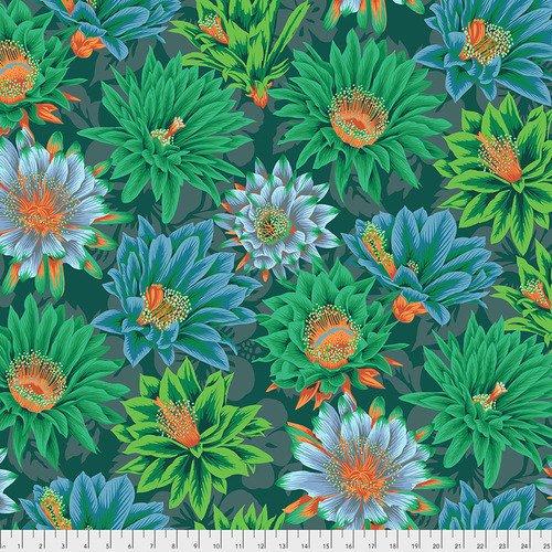 Cactus Flower - Green - Kaffe Fassett Collective