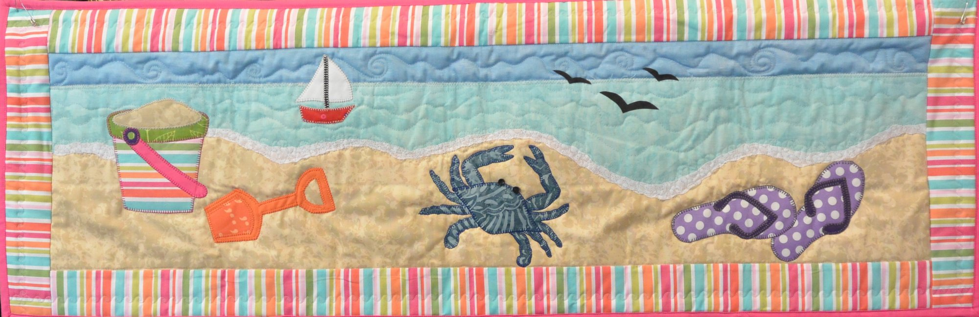 DAY AT THE BEACH PATTERN - PDF