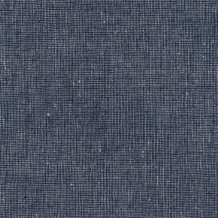 Essex Homespun NAVY Yarn Dyed