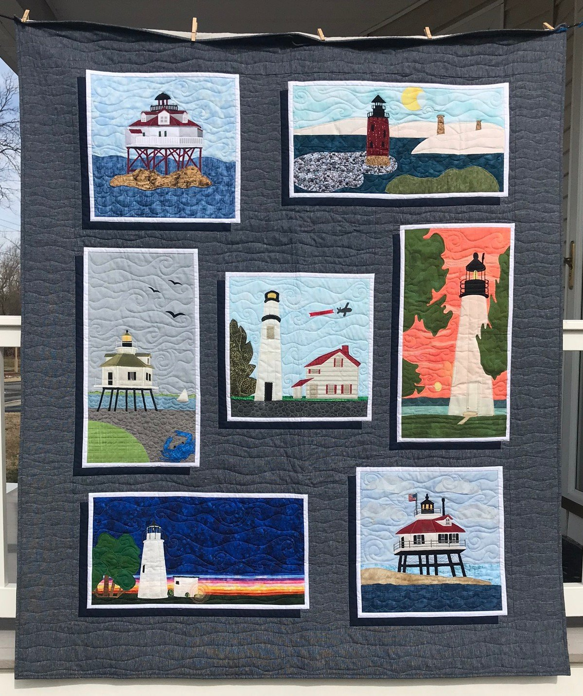 Lighthouses On The Bay Setting pattern