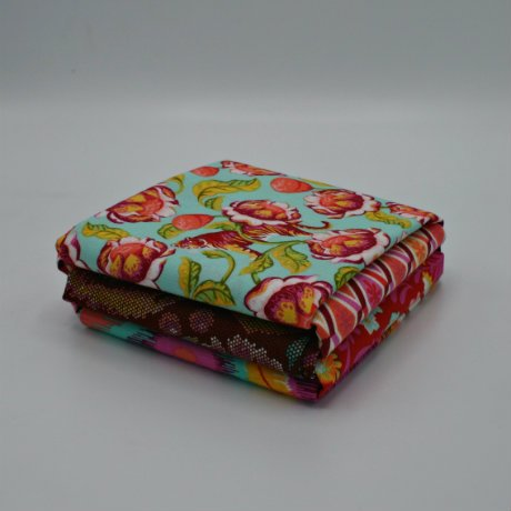 EDEN FQ BUNDLE TULA PINK - 5 FAT QUARTERS