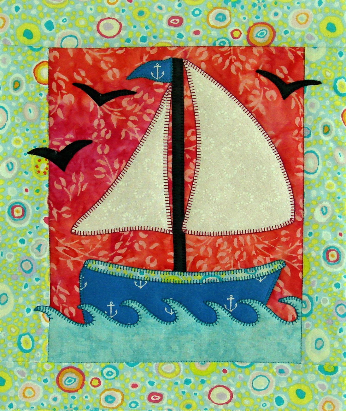 SAIL AWAY PATTERN - JUNE