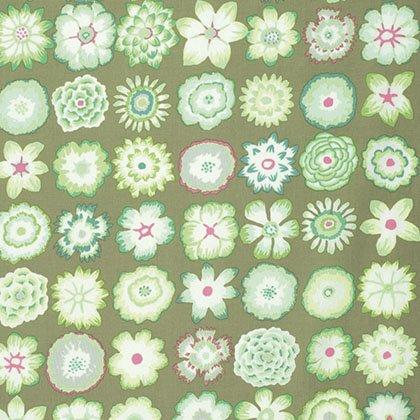 Kaffe Fassett - Button Flowers - Green