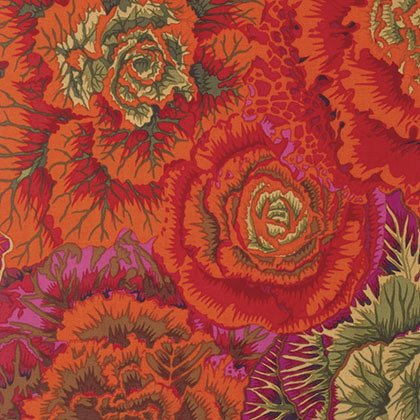 Brassica - Rust - Kaffe Fassett Collective - Philip Jacobs