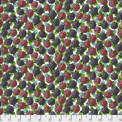 Blackberries - Natural - Neddy's Meadow - Snow Leopard Designs