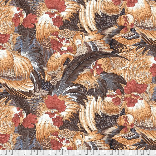Roosters - Naturall - Neddy's Meadow - Snow Leopard Designs